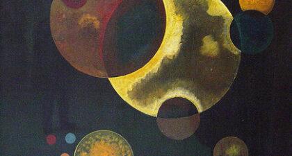 Kandinsky, Heavy Circles (1927)