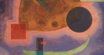 Kandinsky, Three Elements (1925)